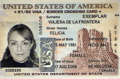 how to get a border crossing card