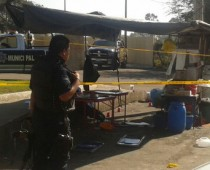 TLAJOMULCO, JALISCO   An attack on two municipal police officers while they ate