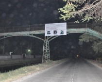 TORREON, COAHUILA   Also on Tuesday morning, narco banners appeared hanging on 4