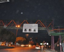 TORREON, COAHUILA   Also on Tuesday morning, narco banners appeared hanging on 5