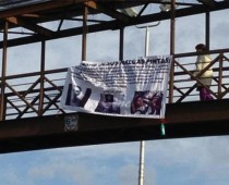 TORREON, COAHUILA   Also on Tuesday morning, narco banners appeared hanging on