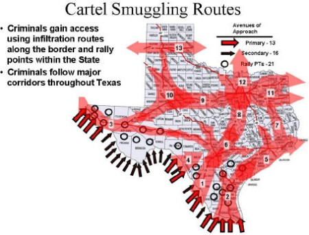 Report Six drug cartels currently operating in Texas